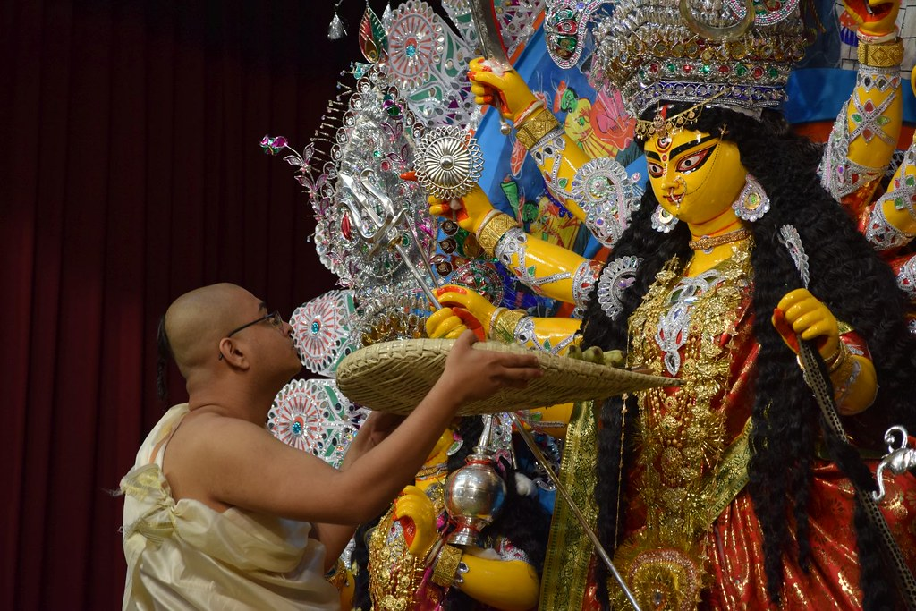 Durga puja has become a costly affair but the spirit is on a high