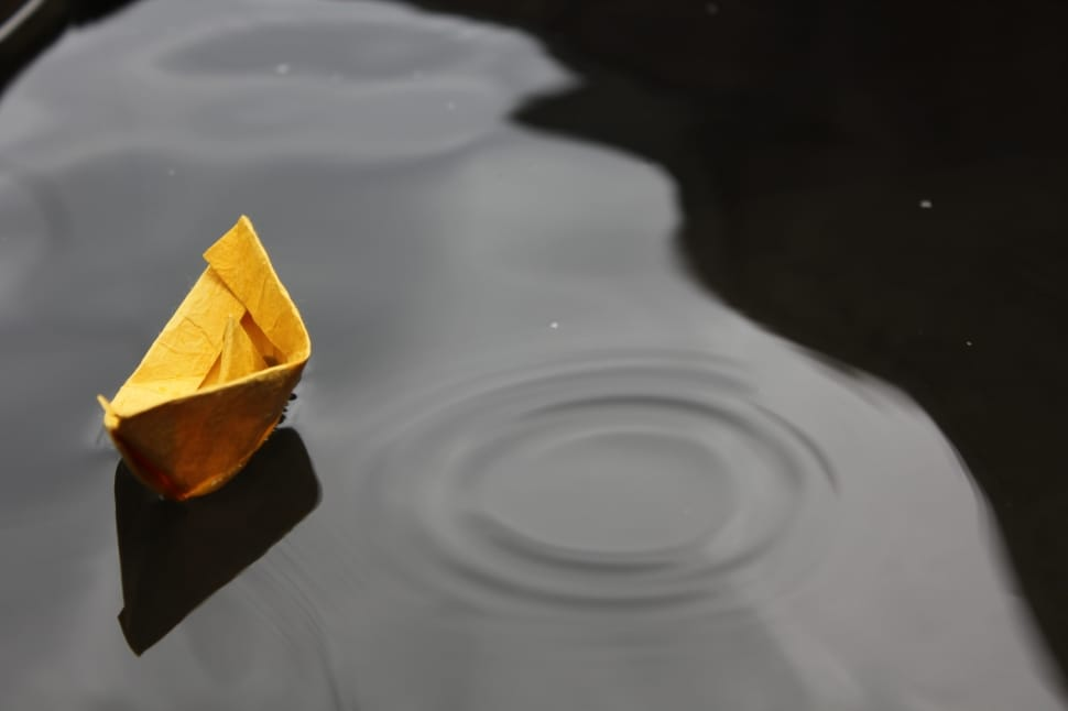 Childhood traditions we took for granted, like making paper boats, are now disappearing fast. Pic for representational purpose only.